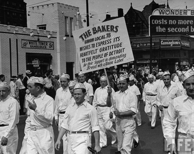 Labor Day Parade Vintage Detroit