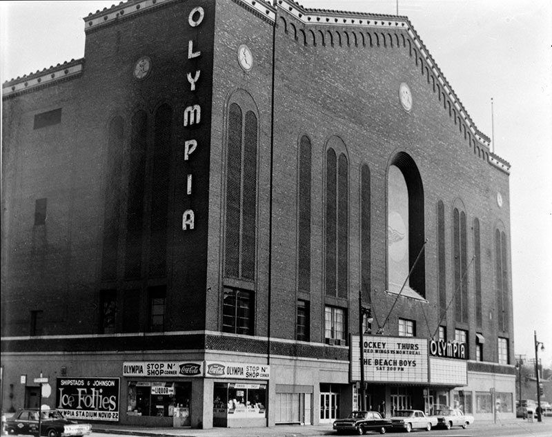 Olympia Stadium in Detroit