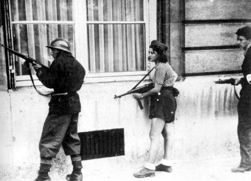 Armed Fighters in Paris