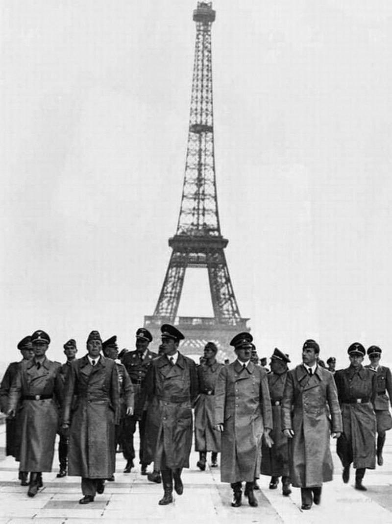 Hitler in Vintage Paris
