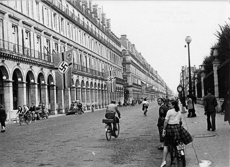 Historic Nazi Invasion of Paris
