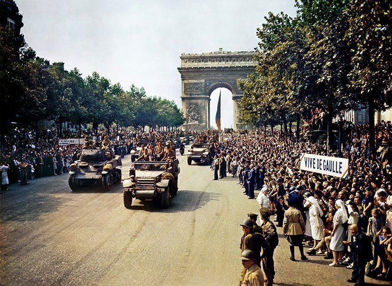 Liberation of Paris Celebration