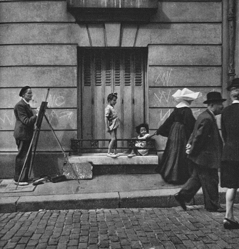 1949 Painter in Paris