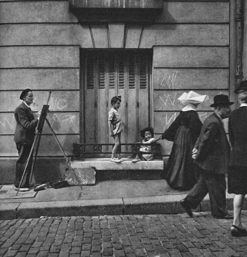 1949 Painter in Paris