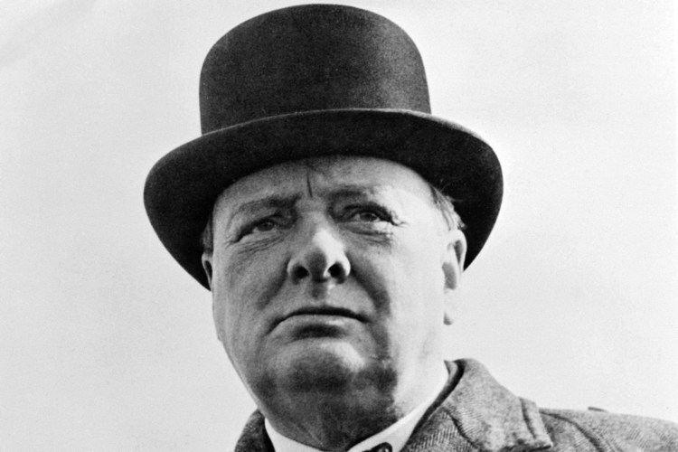 Winston Chuchill Bowler Hat