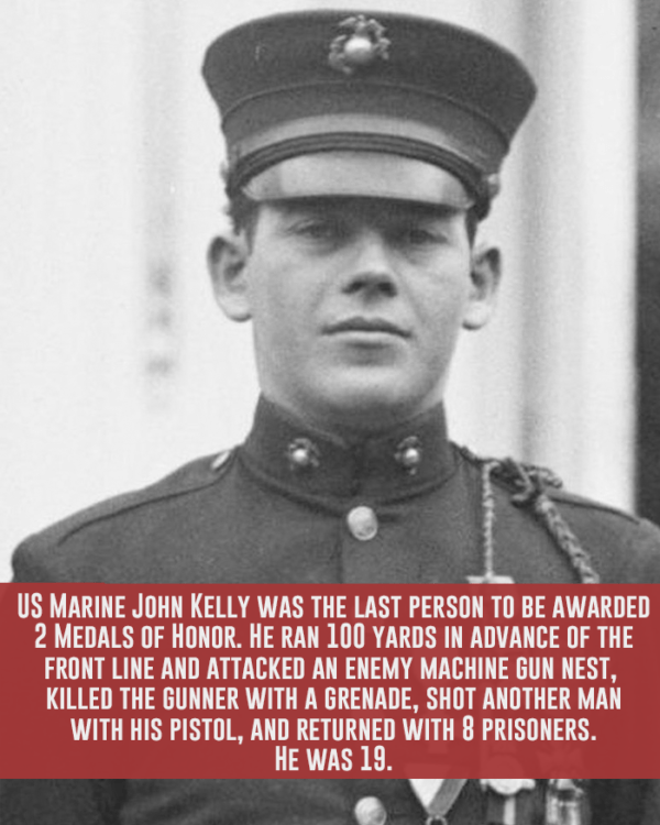 Fun Facts John Kelly Medals Of Honor