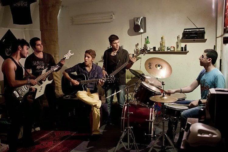 Everyday iran band practice