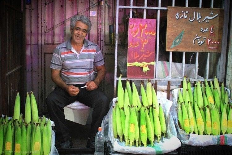 Everyday iran fruit stand