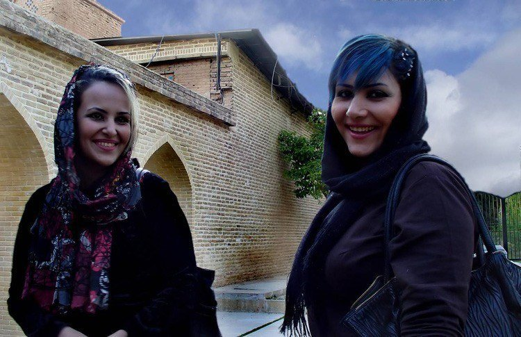 Everyday iran smiling women