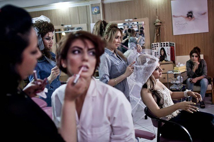 Everyday iran beauty parlor