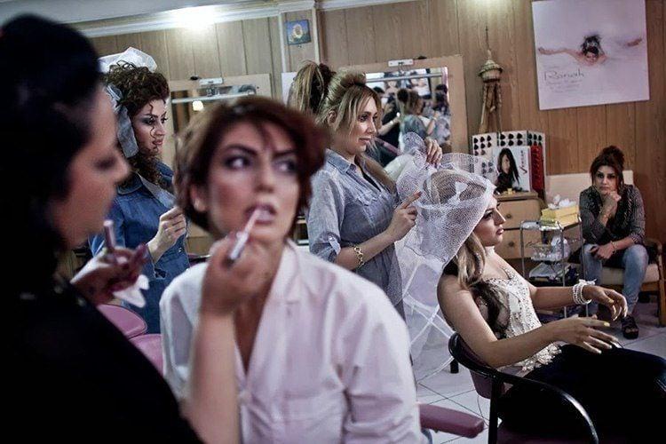 Everyday iran beauty parlor