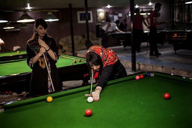 Everyday iran billiard hall