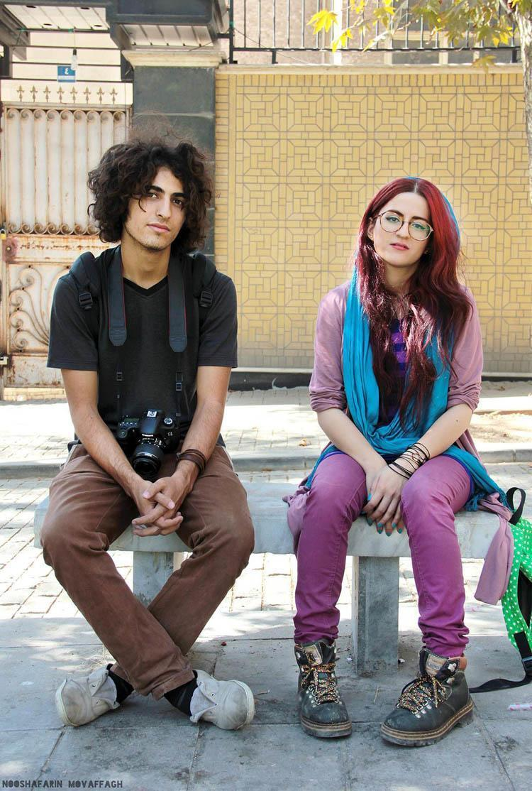 Everyday iran colorful youth