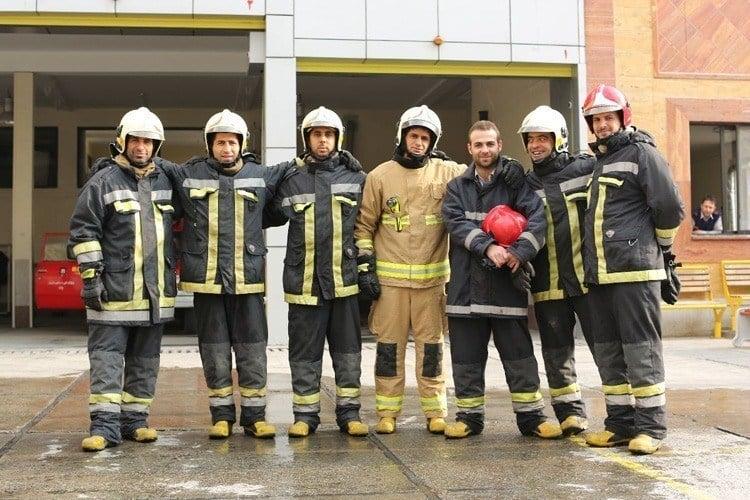 Everyday iran firefighters
