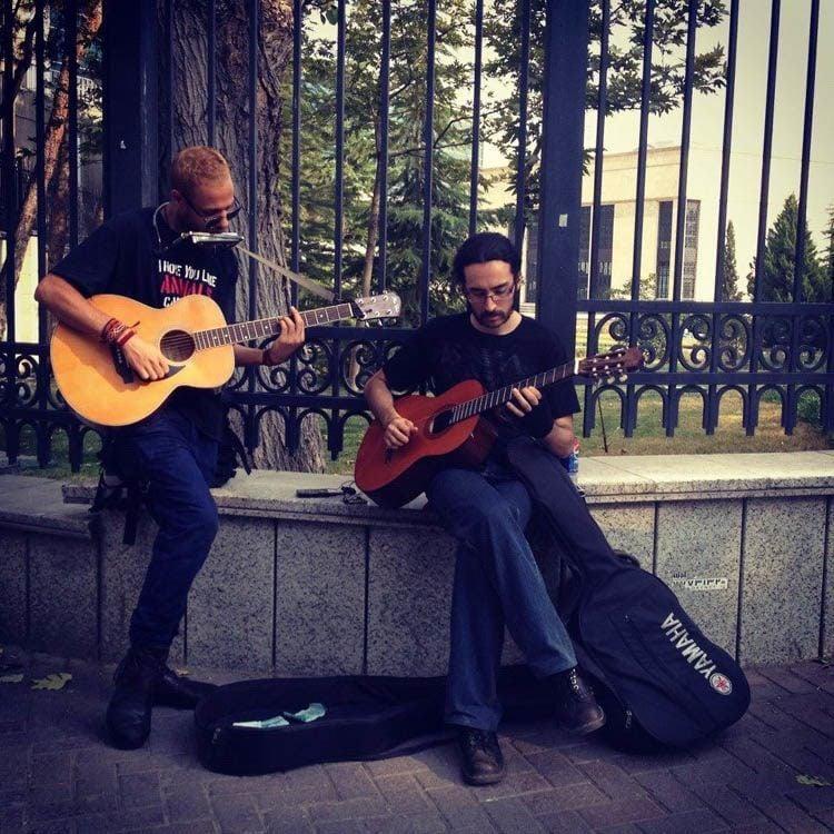 Everyday iran street music