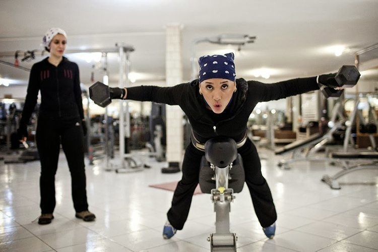 Everyday iran women at gym