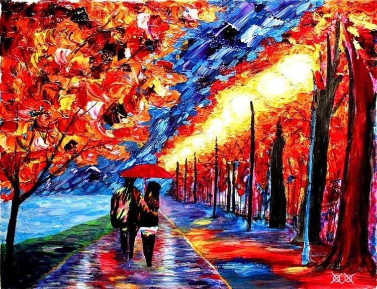 john bramblitt umbrella couple