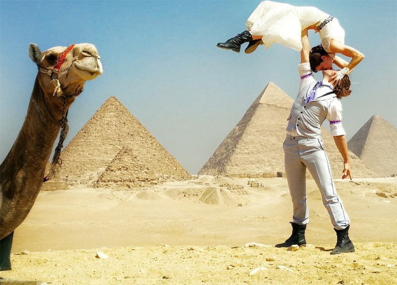 Acrobat Marriage Egypt