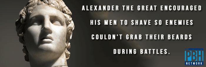 Alexander The Great Beards