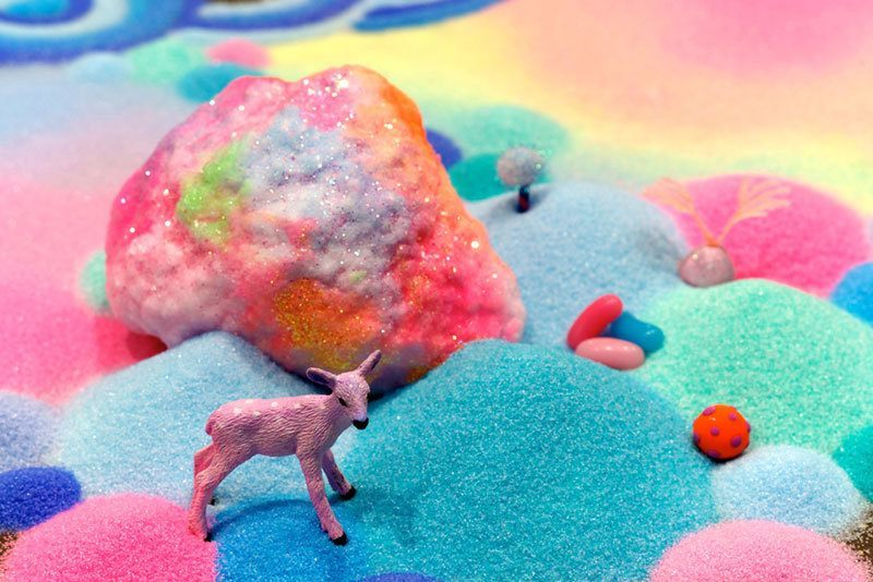 Colorful Sugar Art