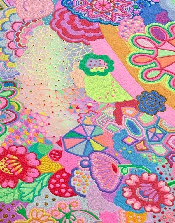 Colored Pop Sugar Art