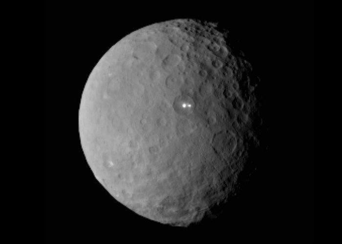 Ceres Dwarf Planet Dawn