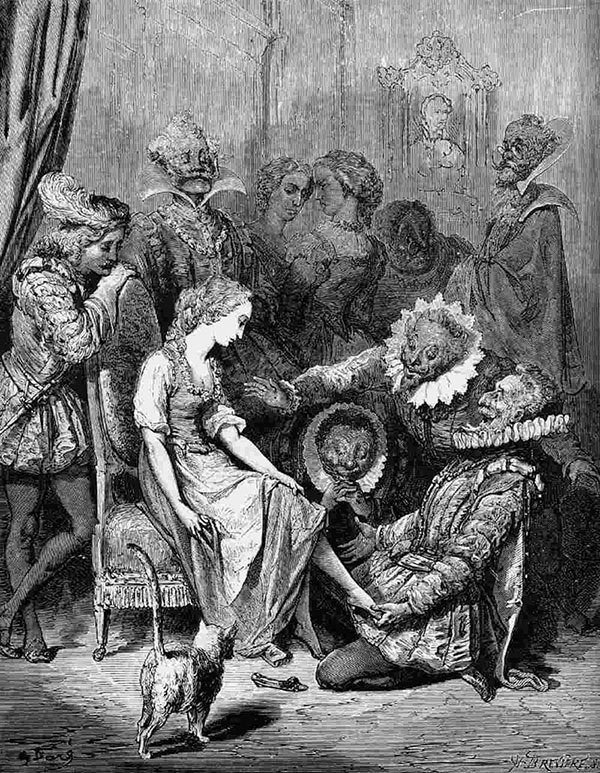History of Cinderella Brothers Grimm