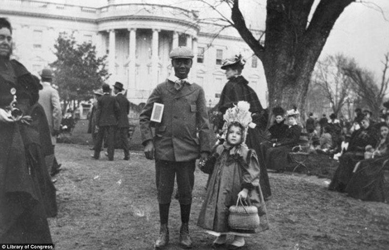 White House Egg Roll 1898