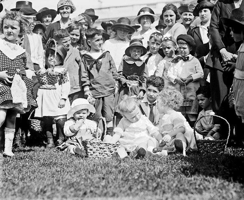 1921 Egg Roll at White House