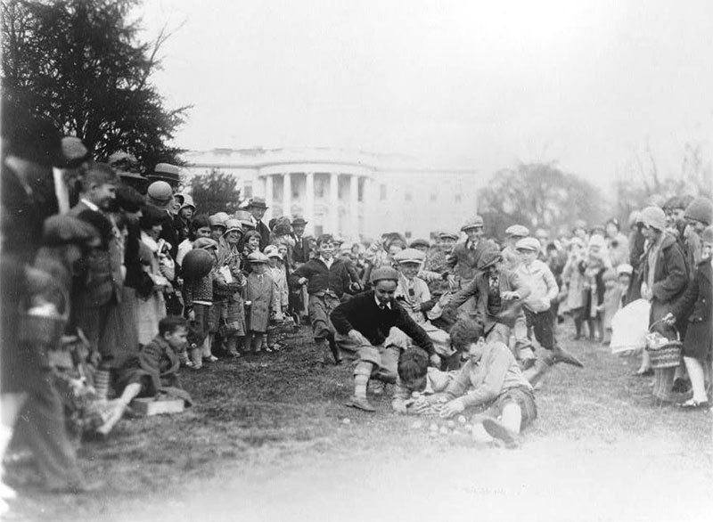 Easter 1929 at White House