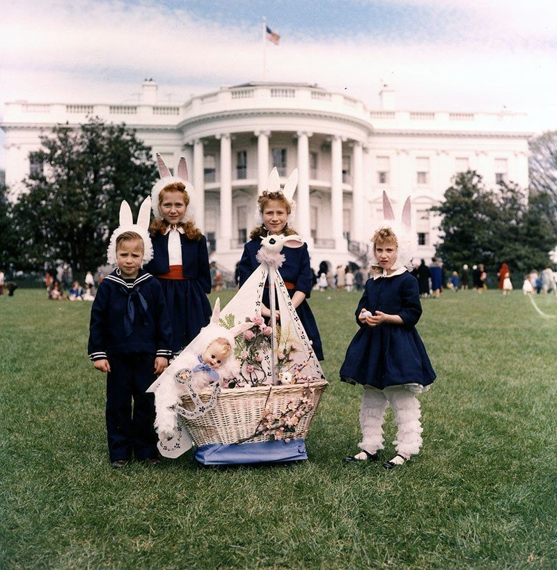 1961 Egg Roll at the White House