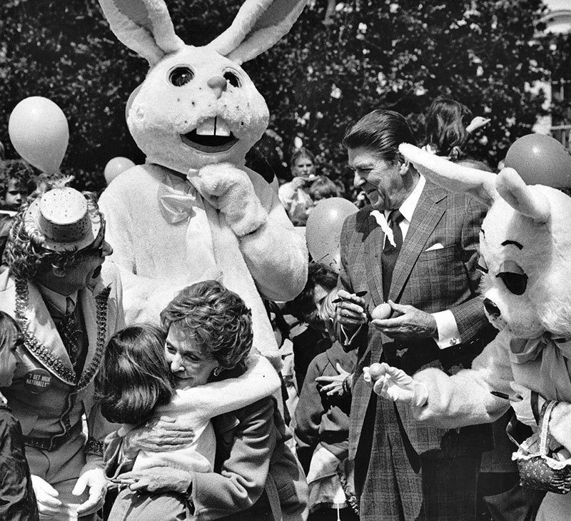 1980 White House Easter Bunny