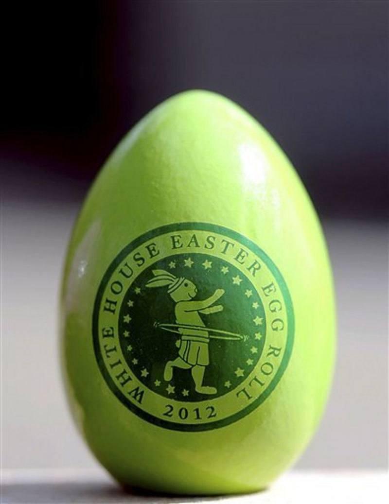 Keepsake Egg White House