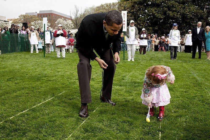 Obama at Easter Egg Roll