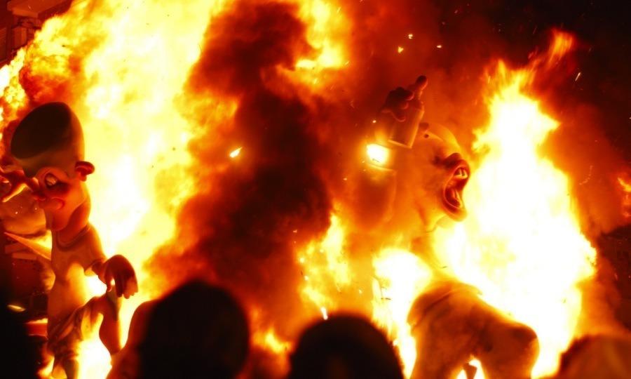 Las Fallas Fire