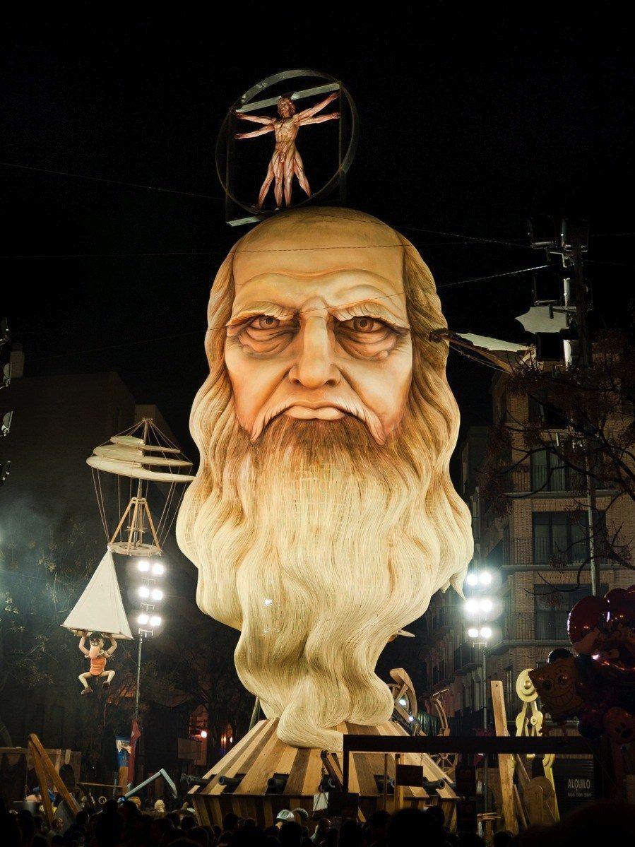 Las Fallas Leonardo Da Vinci