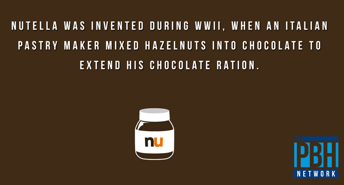 Fun Fact of the Day ~ Tuesday 6 February 2018 Fun-facts-nutella