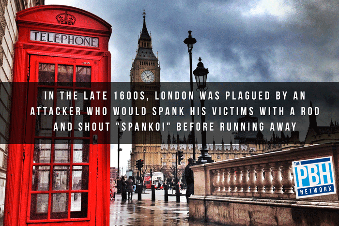 Funny Facts London Spanker