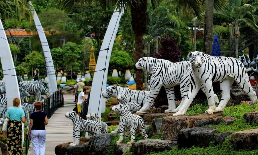 nong nooch white tigers