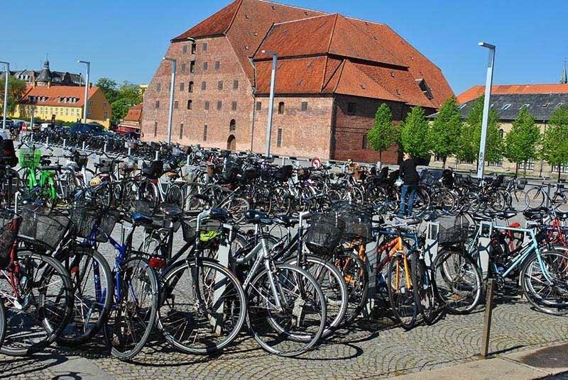 Greenest City Copenhagen Bike Parking