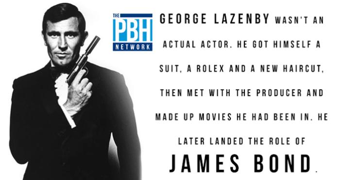 James Bond Fun Facts