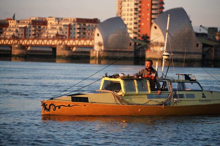 Jason Lewis Boat