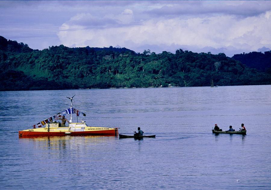 Jason Lewis Solomon Islands