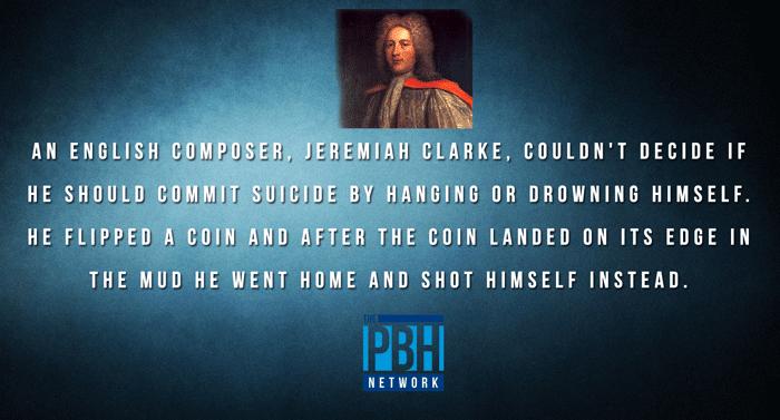 Jeremiah Clarke Suicide