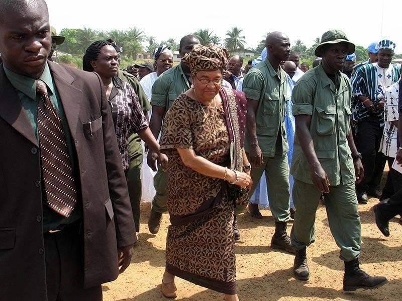 Liberia Rape Sirleaf