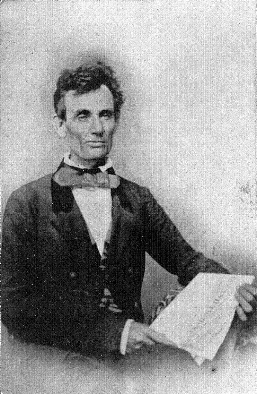 Abraham Lincoln Photos 1854 Paper