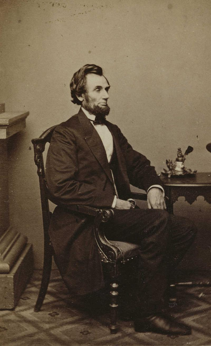 Abraham Lincoln Photos 1861 Arrival