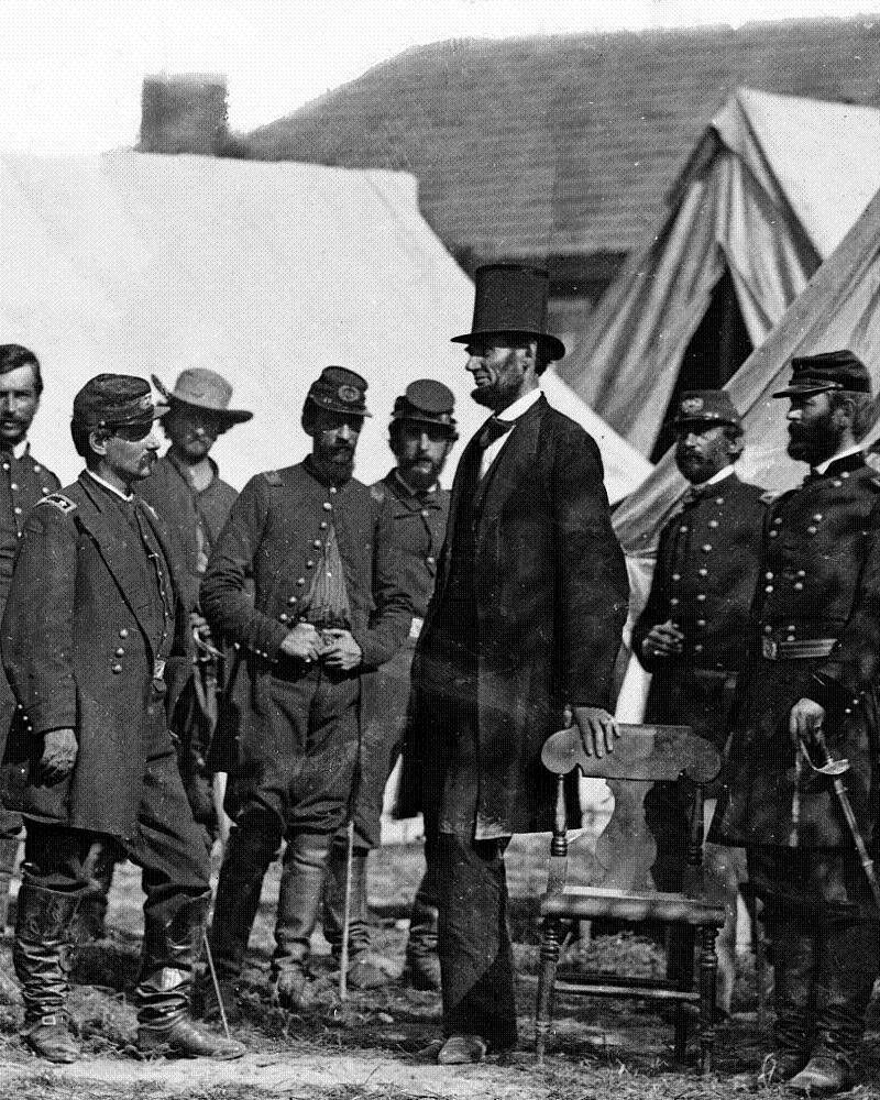 Abraham Lincoln Photos 1862 Antietam