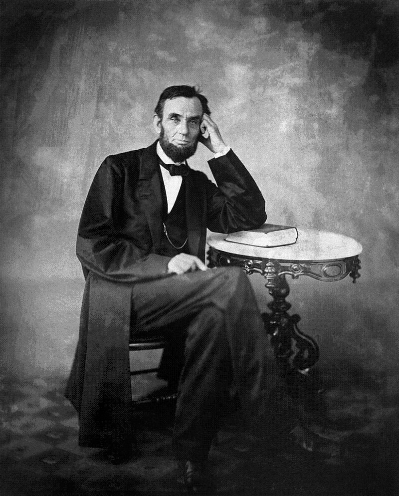 Abraham Lincoln Photos Elbow Book