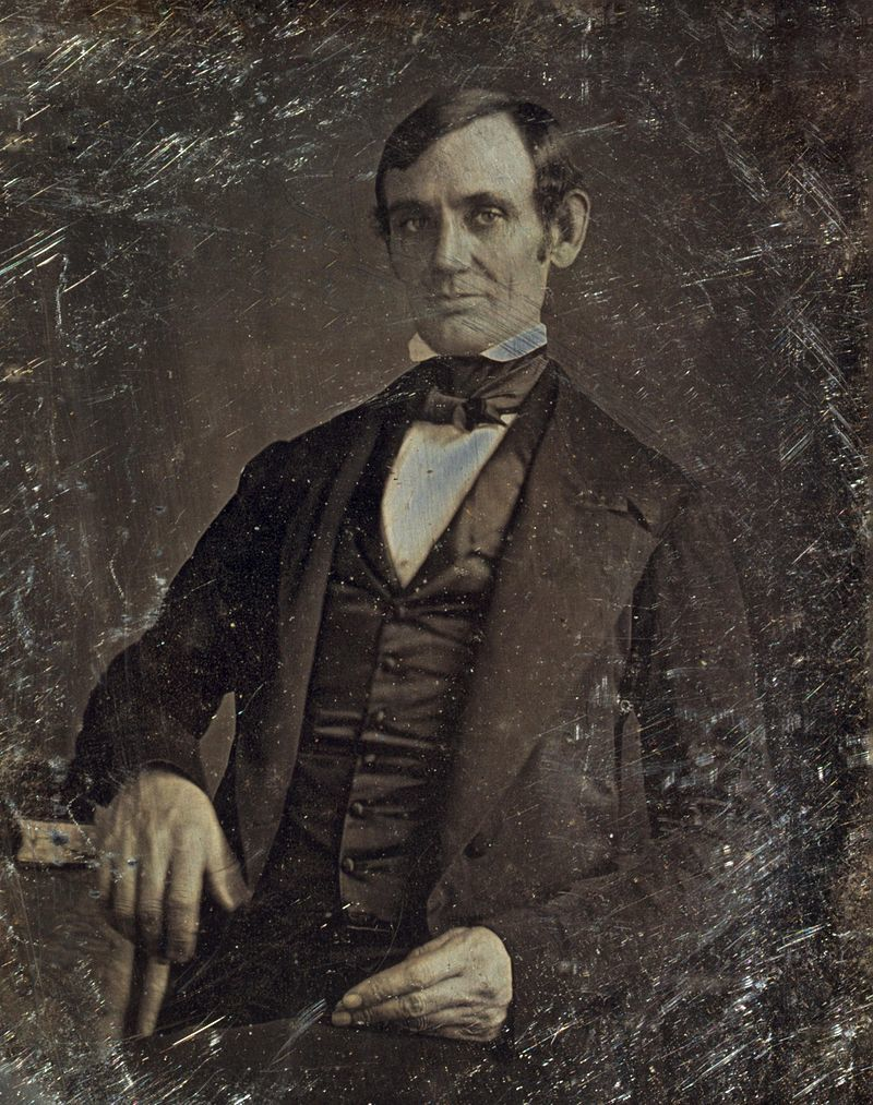 Abraham Lincoln Photos First Portrait